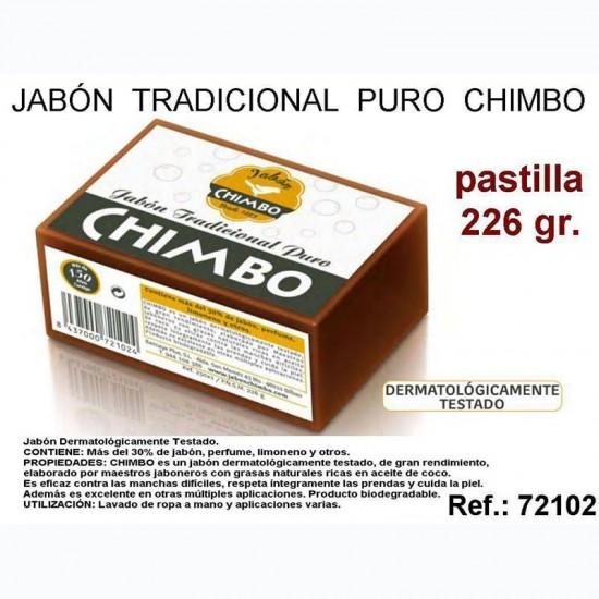 Jabon Chimbo Pastilla 250gr.