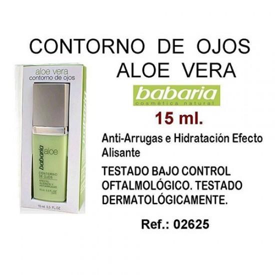 Contorno Ojos Aloe Babaria 15ml