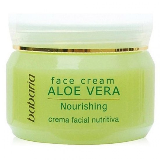 Crema Facial Hidratante 24h. aloe babaria
