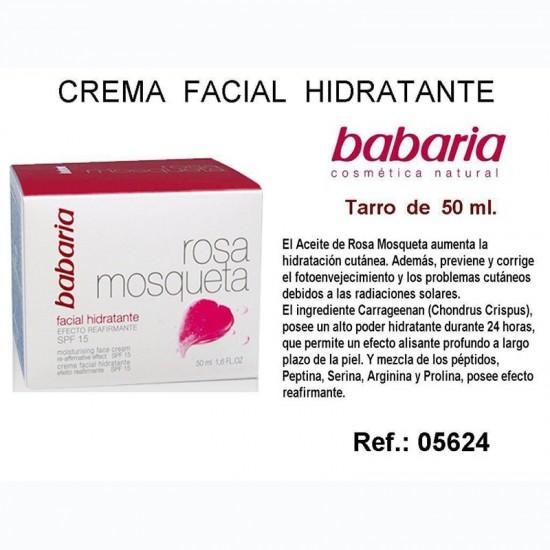 Crema Facial Hidratante Rosa Mosqueta 50ml