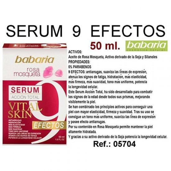 Serun Accion Total 9 efectos Babaria 50ml