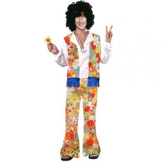 Disfraz Hippie Adulto Hombre